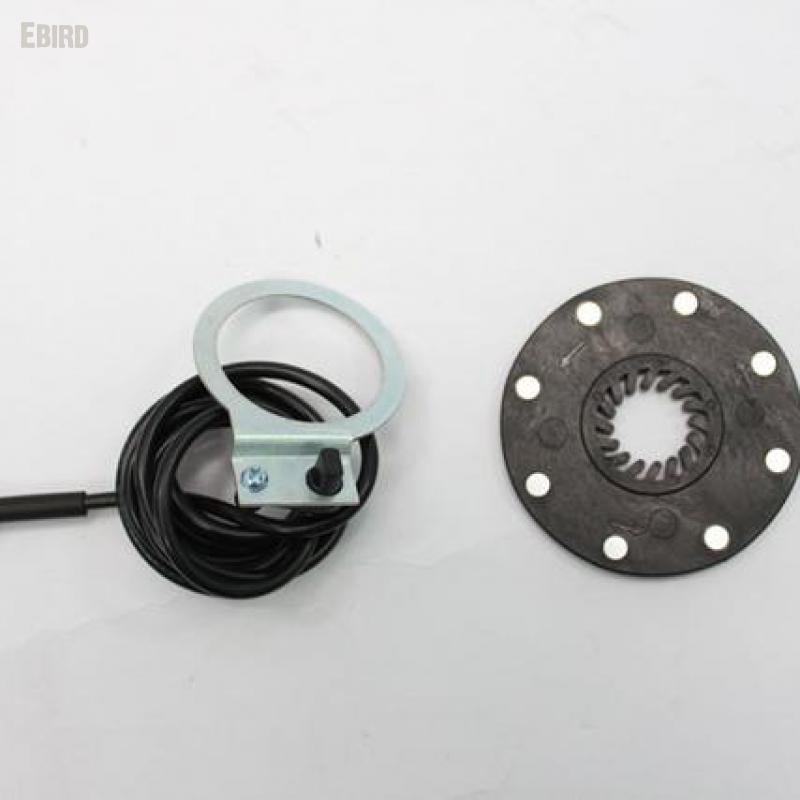 E-Bike Sensor de velocidad el/éctrico Pedal para bicicleta 8/imanes E-Bike auxiliar Sensor de velocidad