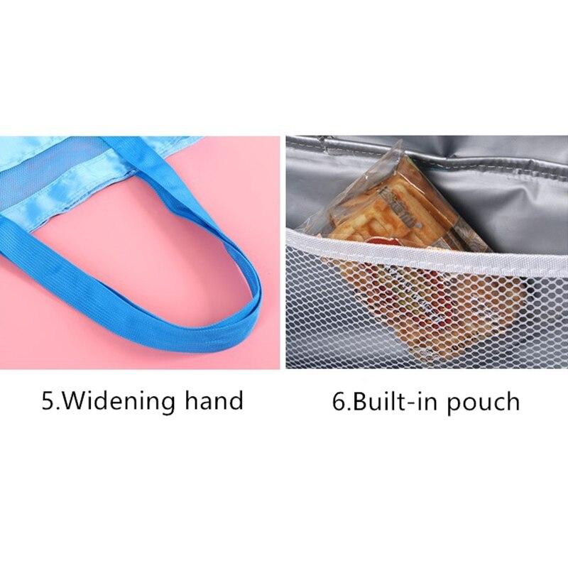 saco isolado thermo térmica lancheira para crianças saco de comida piquenique