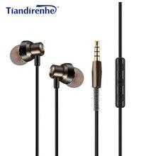 TAVAN MS18 Mic ile Kulak Kulaklık HIFI Spor Koşu Müzik Kulaklık Kulaklıklar Stereo Bas iPhone 6 6 s için xiaomi MP3 Oyuncu