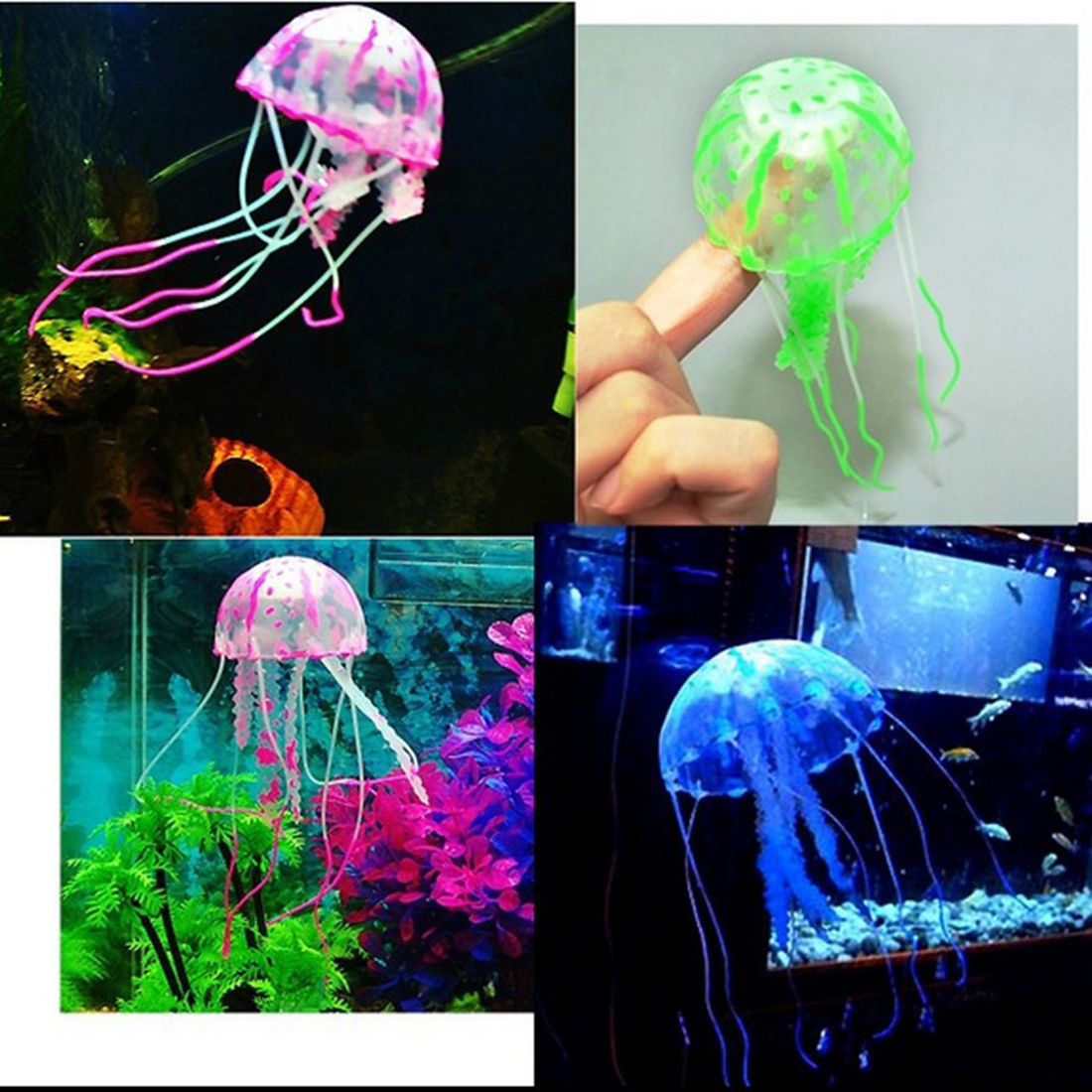 Online buy wholesale artificial jellyfish from china for Aquarium decoration online