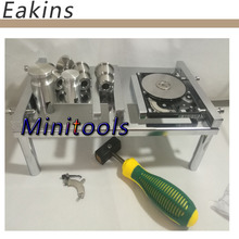 HHD PC Hard disk Opening data recovery repair tools replace the hard drive head seagate 2.5 /3.5 +working table