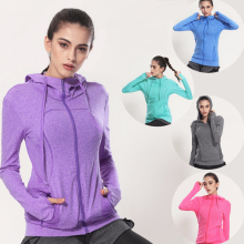 Women's Yoga Shirts Long Sleeve Yoga Top Sportswear Quick Dry Breathable Tracksuit