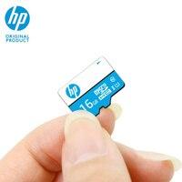 HP Micro SD 16GB tarjeta de Memoria flash TF SDHC Cartao de Memoria microSD Class10 U1 Original tarjeta UHS-I teléfono móvil completa HD tarjeta