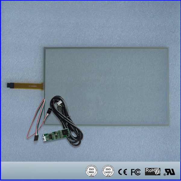 17inch Resistive Touch Screen Panel 239.5mmx382.2mm 4Wire USB kit for monitor 17 touch panel kit