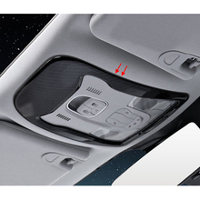 2016-2018 Интерьер Литье отделка углеродного волокна Reader крышка лампы хром стайлинга автомобилей Для Джип Ренегат аксессуары