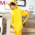 Children Kids Flannel Onesies Cute Cartoon Animal Pikachu Pajamas Cosplay Party Costume Pijamas Pyjamas Sleepwear For Girls Boys