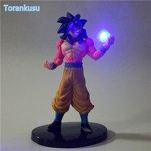 Dragon Ball Z Action Figure Son Goku Super Saiyan 4 Kamehameha Led Light DIY Display Toy Esferas Del DragonToy DBZ+Light DIY77