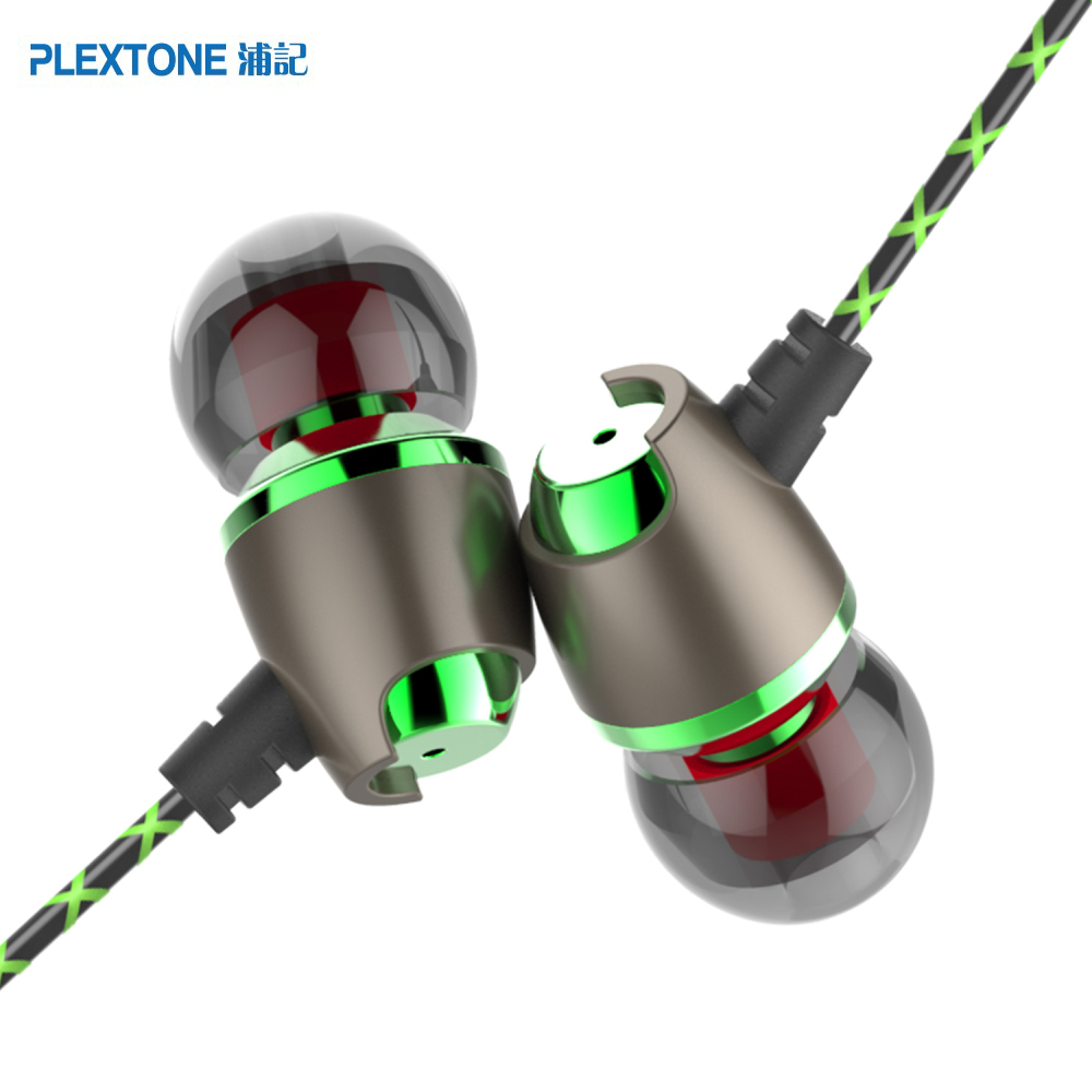PLEXTONE X50M Earphones Stereo Earpiece In Ear Headsets with Microphone for xiaomi yotaphone 2 a mobile