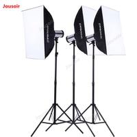 280 W три фонарика комплект фото тройной сверкающий костюм комплект подсветки комплект освещения студийная лампа стенд softbox CD50 T10