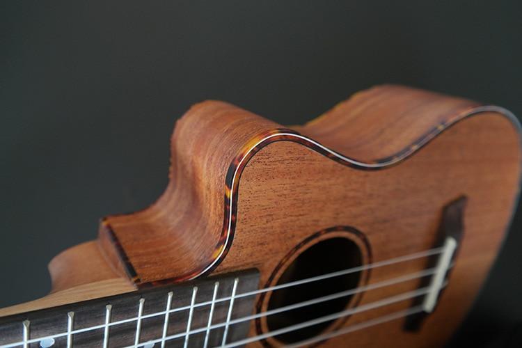 SevenAngel 23 pulgadas Concierto Caoba Ukelele Ukulele de ángulo - Instrumentos musicales - foto 5
