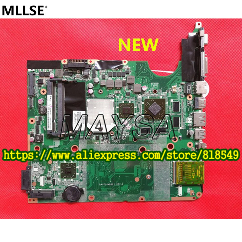 все цены на  Top quality Original 571187-001 DAUT1AMB6E0 DAUT1AMB6E1 Laptop Motherboard Fit For HP Pavilion DV6-2000 Notebook PC 100% tested  онлайн