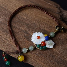 Sea Shell Flowers Anklet