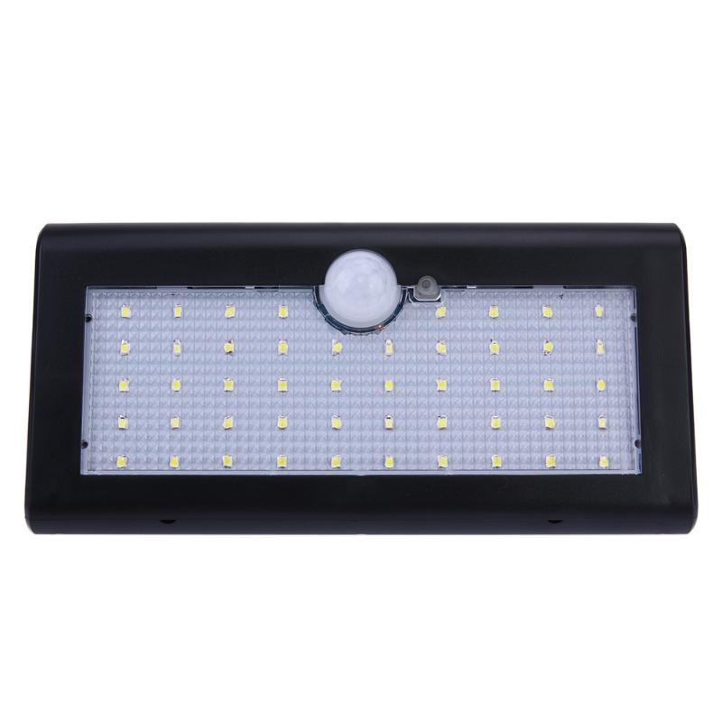 48 LED Étanche IP65 PIR Motion Sensor Solar Power Mur Lumière Extérieure Lampe de Sécurité Blanc Pour Rue Cour Chemin La Maison jardin