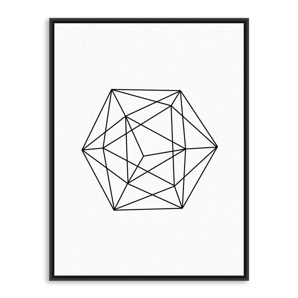 Geometric Shapes Art Black And White | www.pixshark.com ...