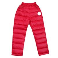 Winter Children Kids Duck Down Pants Kids Thick Warm TrousersUnisex Clothes Snow Ski Warm Pants For