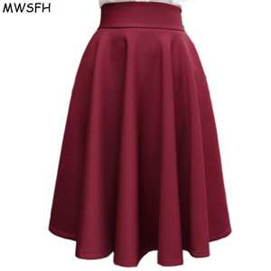 MWSFH In Waisted Europe And The Pleated Skirt for Female