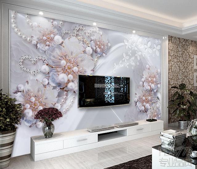 Custom High end 3D Wallpaper Murals Living room Bedroom Print 3D ...