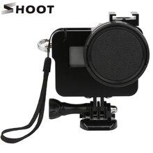 Снимать ЧПУ Алюминий сплав Защитный чехол В виде ракушки Рамки 52 мм УФ-объектив для GoPro Hero 5 Black camerat для GoPro hero 5 Аксессуары