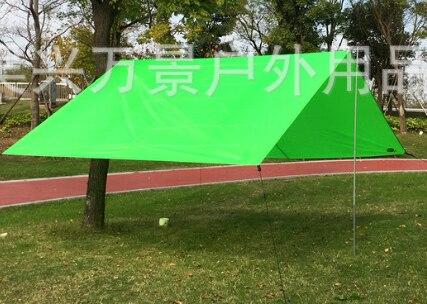 10'x10' 10'x13' квадратный навес для защиты от солнца, водонепроницаемый полиэфирный тент, затенение от солнца, сетка для улицы, для сада, для пеших прогулок, Солнцезащитный навес, парус - Цвет: green