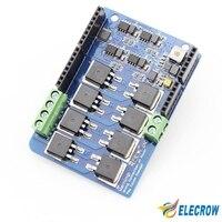 Large Current Motor Shield For Arduino UNO R3 MEGA R3 8A 22V Dual Channels H Bridge