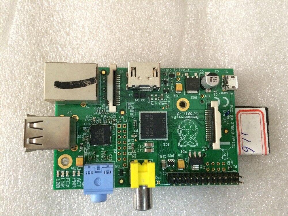 Original Raspberry Pi 1 Modèle b Avec 8G SD carte Gridseed Lame USB mineur code Contrôleur Est démonté Gridseed Lame mineurs