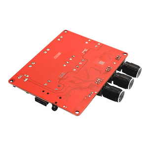 Image 5 - TPA3116 2.1 2 × 50 ワット 100 4.2 Bluetooth デジタルサブウーファーアンプ FM USB Hifi パワーアンプオーディオボード + リモコン F8 009