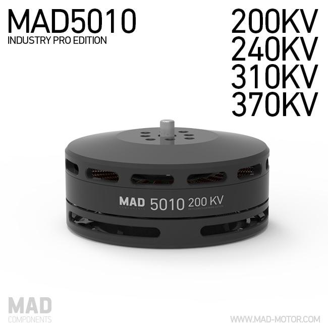 MAD5010 IPE KV200 KV240 KV310 KV370 двигатель для RC Quadcopter запасная часть FPV системы Racing w/NSK подшипник