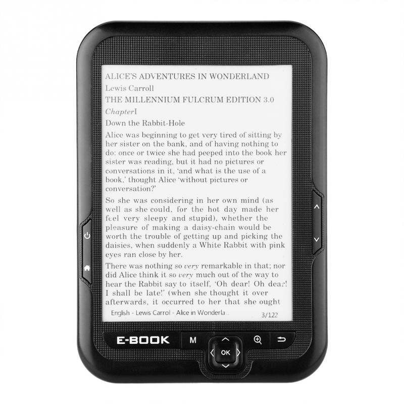 נייד E-נייר E-דיו 6 inch E-קורא ספר אלקטרוני קורא Paperwhite