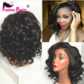 8A Brazilian Wavy Lace Front Human Hair Wigs Short Human Hair Bob Wigs Full Lace Human Hair Wigs For Black Women Bob Wigs