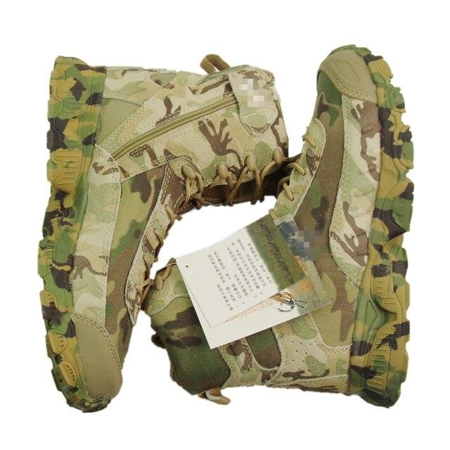 Высокое Качество Multicam Военные Ботинки Походные Ботинки Дышащие Носки Мужчины Сапоги EUR размер 39-45