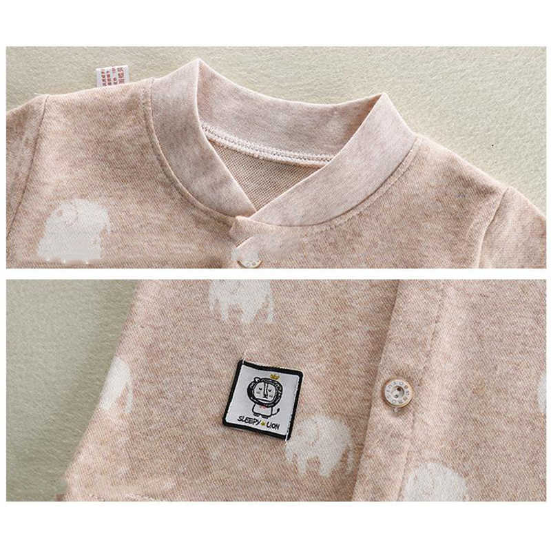 תינוק בני בנות כותנה מעיל יילוד קריקטורה דפוס עבור אביב סתיו תינוקות השפל בגדים פעוט רך הלבשה עליונה