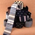 Lazos de punto de 6 cm de Ancho Delgada Corbata para Los Hombres 2017 Nuevo Planos de Diseño de moda de Punto Flaco Estrecho Punto A Rayas Hecha A Mano de la Navidad empate