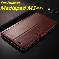 Huawei MediaPad M3 Card Holder Cover Case For Huawei Media Pad M3 8 4 Inch Pu