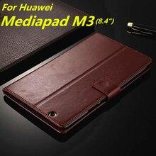 Huawei MediaPad М3 держателя карты дело чехол для Huawei Медиа Pad M3 8.4-дюймовый pu кожаный телефон случае ультра тонкий кошелек откидная крышка