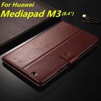 Huawei MediaPad M3ผู้ถือบัตรปกกรณีสำหรับหัวเว่ยสื่อPad M3 8.4นิ้วหนังpuโทรศัพท์กรณีพิ