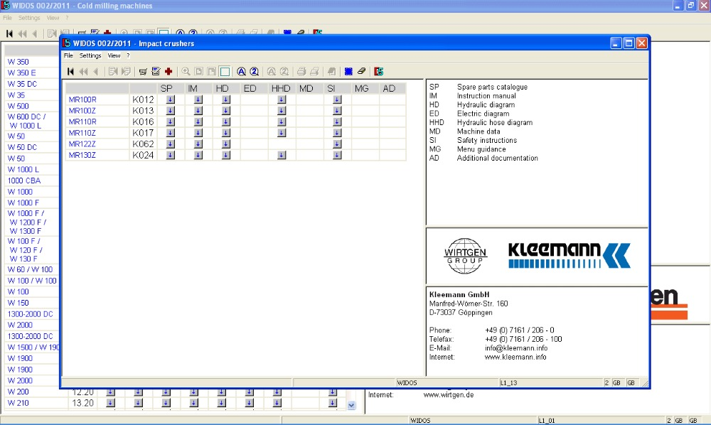 US $111 0 26% OFF|Widos (Wirtgen, Hamm, Voegele, Kleemann, Streu Master)  2013+expire crack-in Software from Automobiles & Motorcycles on