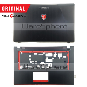 Image 1 - New Original LCD Rear Lid Back Cover for MSI GE70 307759A212A89 Top Cover Without Touchpad 307757C216Y31 Hinges MS 1759 MS 1756