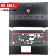 ใหม่Original LCDด้านหลังฝาปิดด้านหลังสำหรับMSI GE70 307759A212A89 TOPไม่มีทัชแพด 307757C216Y31 บานพับMS 1759 MS 1756