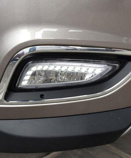 led drl daytime running light for Hyundai IX35 2013-14 with fog lamp combi, original design top quality