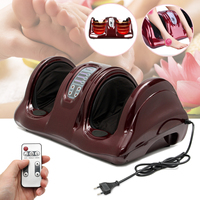 3D Shiatsu Heated Foot Ankle Calf Massager Heating Kneading Rolling Reflexology Kneading Rolling Detachable Pads Convenient