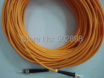 Fiber Optical Patch Cord Cable Jumper ST-ST  multimode 62.5/125 Simplex 3mm 25m Free shipping