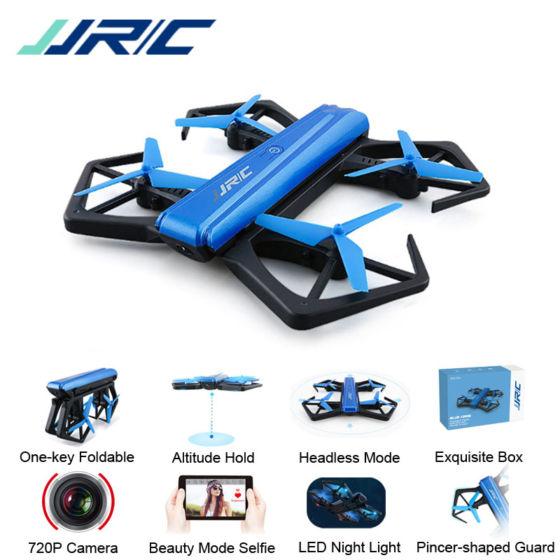 JJRC H43 H43WH Mini Selfie Drone with Camera HD WIFI FPV Altitude Hold Headless Mode Foldable Arm RC Quadcopter Dron H37 Mini jjrc h12wh wifi fpv with 2mp camera headless mode air press altitude hold rc quadcopter rtf 2 4ghz