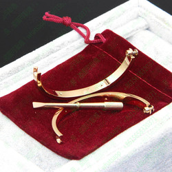 Free Shipping Titanium Steel Couple Jewelry Horizontal Love Bangles,Women Men Bangles Bracelets Femme Bijoux Pulseira Feminina