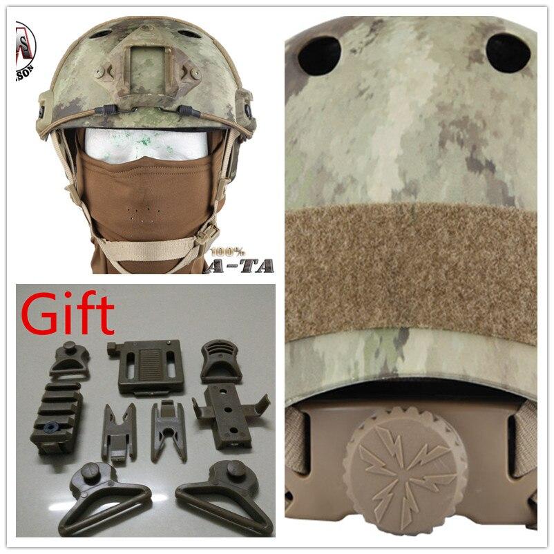 EMERSON FAST Helmet PJ TYPE protective helmet Pararescue Jump Helmet A-TACS EM5668F tacs tacs ts1003b
