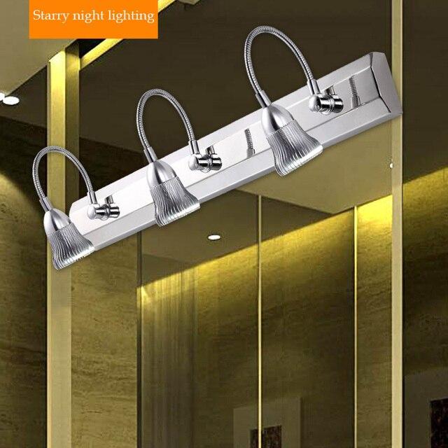 cuarto de bao moderno led luces de espejo de acero inoxidable enchufes with espejo para bao moderno