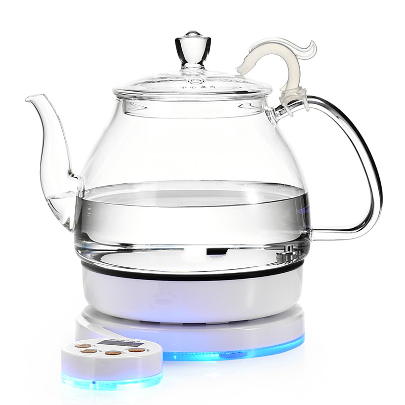 Glass electric kettle black tea boiling ware set