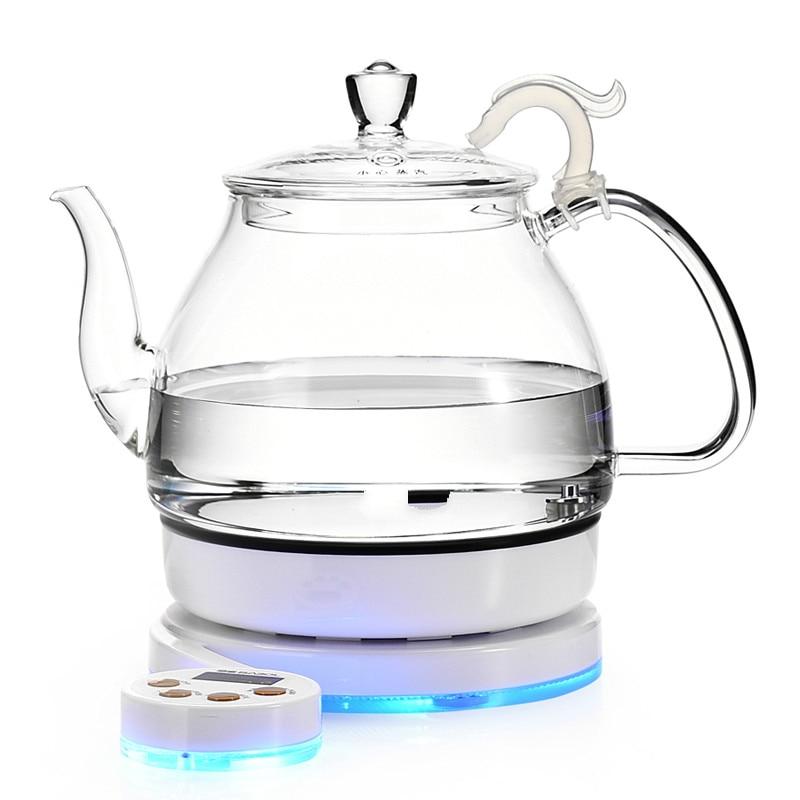 Glass electric kettle black tea boiling ware setGlass electric kettle black tea boiling ware set