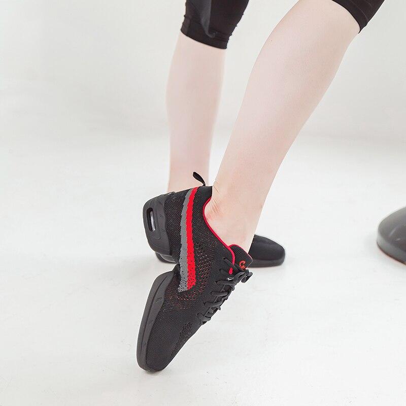 Sansha Dance Sneakers Flying Woven Fabric Thick Light Breathable Fashionable Design Women Girls Modern Dance Jazz