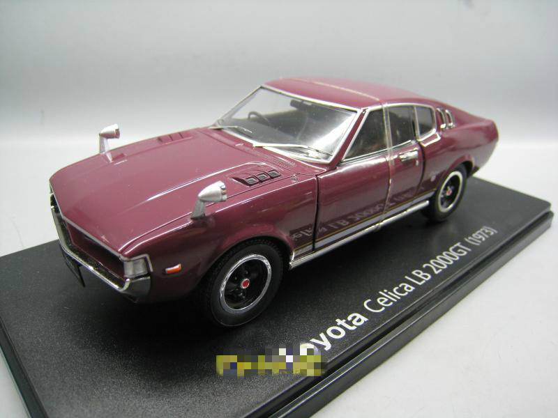 IXO 1/24 Scale JAPAN TOYOTA CELICA LB200GT Diecast Metal Car Model Toy For Decoration,Gift,Kids,Collection
