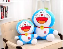 anime figure lovely laughing Doraemon plush toy doll soft pillow toy ,birthday present Xmas gift c906